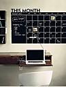 Tablă de scris cu creta Perete Postituri Acțibilduri de Tablă Autocolante de Perete Decorative,Vinil Material Detașabil Pagina de decorare