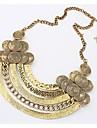 les retros de masoo femmes simples métal collier de la mode