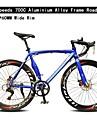 Road Bikes Cykelsport 14 Hastighet 60mm Unisex SHIMANO TX-30 Dubbel skivbroms Vanlig Monocoque Vanlig ALUMINIUMLEGERING / Stål