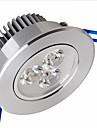 6W Plafonniers / Lampes Panneau Encastrée Moderne 3 SMD 2835 500-550 lm Blanc Chaud Gradable AC 100-240 V