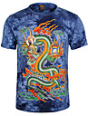 cu maneci scurte de imprimare 3D T-shirt zhengmao bărbați