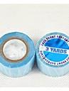 avant de dentelle ruban de support 2.5cm 3yards américain colle bleu