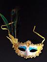 Masque Cosplay Fête / Célébration Déguisement d'Halloween Bleu Imprimé Masque Halloween Carnaval Nouvel an Unisexe PVC