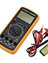 lihuada digital multimeter LHD-9205a med sond, låg energiförbrukning, hög precision