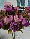 """Une succursale Soie Plastique Pivoines Fleur de Table Fleurs artificielles #(11.8""""x18.11"""")"""