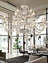 Maximum 60 W Modern Kristall Glas LjuskronorLiving Room / Bedroom / Dining Room / Vardagsrum / Sovrum / Matsalsrum / Kök / Badrum /