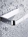 HPB®,Toalettpappershållare Krom Väggmonterad 15*9*3cm(6*3.5*1.2 tum) Mässing Modern