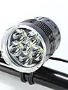 Lampes Frontales / Eclairage de Vélo / bicyclette LED Cree XM-L T6 CyclismeEtanche / Rechargeable / Résistant aux impacts / Transport