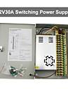 12v 30a dc 18 strömförsörjning box automatisk återställning / 12v30a strömförsörjning / switch strömförsörjning, 110 / 220V AC-ingång