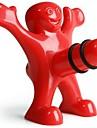 kreativa lyckliga män stil plastflaska propp 9,5 * 8,5 * 5,5 cm (3,74 * 3,35 * 2,17 tum)