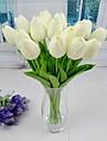 Gren Plast PU Tulpaner Bordsblomma Konstgjorda blommor