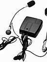 motorcykel wired interphone wi10 walkie talkie intercom för förar ryttare och bakpå stödjer mp3
