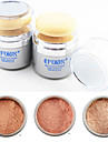 Whitening Soft Makeup Loose Powder Finishing Powder Concealer(Powder Puff&Mirror in,Assorted 3 Color)