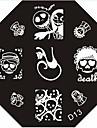 nail art estampage l'image timbre plaque modèle série d no.13