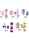 14pcs härlig tecknad stil nail art Stricker d serien no.32-36 (diverse mönster)