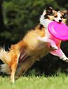 mjuk frisbee bita resistenta husdjur silikon skiva för husdjur hundar katter