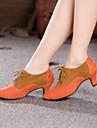 tocuri inalte ale femeii moderne cubaneze pantofi de dans toc piele de căprioară (mai multe culori)