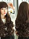 vågigt lockigt lolita naturlig charmiga glamour håret fullt peruker