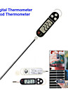 """1,5 """"skärm lång sond digital elektronisk matlagning termometer temperaturmätare livsmedels feeder (1 x LR44)"""