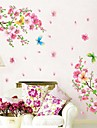 pêche environnement blossums sticker mural en forme