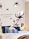 miljö borttagbara romantisk blomma pvc taggar&klistermärke