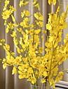 1 Gren Silke Plast Orkidéer Bordsblomma Konstgjorda blommor 94 5 5