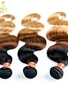 Mänskligt hår - Svart - HÅRFÖRLÄNGNING - till Dam - Vågigt/Kroppsvågor
