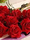 Gren Silke Plast Roser Bordsblomma Konstgjorda blommor #(50*10*10 cm(19.7*3.9*3.9 in))