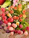 Gren Silke Plast Roser Bordsblomma Konstgjorda blommor #(26*14*14 cm(10.2*5.5*5.5 in))