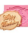 grattis på födelsedagen muffin kort fondant tårta formar dekoration choklad mögel för köket bakning för socker godis