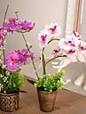 ramură Mătase Plastic Orhidee Față de masă flori Flori artificiale