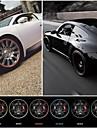nya universella bil styling fälgen klistermärke skyddande ring för bil nav 22 '' max auto dekoration 10 färger