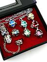 Smycken Inspirerad av Reborn! Cosplay Animé Cosplay Accessoarer Ring Silver Legering Man / Kvinna