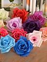 Gren Silke Plast Roser Bordsblomma Konstgjorda blommor #(7*7*4 cm(2.8*2.8*1.5 in))