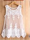 Women's Short Sleeve Lace Evening Dress s072