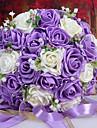 Une succursale Mousse de polystyrène Roses Fleur de Table Fleurs artificielles 26 x 26 x 33(10.24'' x 10.24'' x 12.99'')
