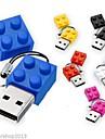 Noul cărămizi de jucărie de desene animate 8GB USB 2.0 Flash Pen Drive
