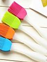 kreativt hem kök silikon mjuk borste för att rengöra penseln (slumpmässig färg)