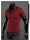 martin män mode koreanska broderi smal kortärmad t-shirt