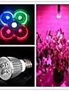5W E26/E27 LED-växtlampa MR16 3 Högeffekts-LED 500 lm Naturlig vit / Röd / Blå / Grön AC 85-265 V 1 st