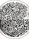 Tecknat/Abstrakt/Punk - Finger/Tå - Andra Dekorationer - av Metall - 1 - styck 5.5X5.5X0.1 - cm