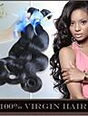 """3 st hel 8 """"-30"""" obearbetade 6a peruanska virgin hår förkroppsligar vinkar naturligt svart remy människohår väver buntar mjuka&tjock"""