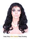 """8 """"-26"""" peruanska jungfru hår förkroppsligar vinkar limfria spets peruk spets front peruk färg naturligt svart baby hår för svarta kvinnor"""