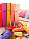 Flacons Cosmétiques Plastic Carré Echantillon Rouge / Violet / Rose / Orange