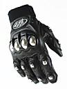 Motorcykel Handskar Helt finger Läder M/L/XL Svart