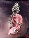 Cătușe pentru urechi Stil Punk La modă Personalizat European Aliaj Balaur Bronz Argintiu/gri Bijuterii PentruNuntă Petrecere Zilnic