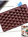 silicone de mode haricots de moules de chocolat de gelée de glace de forme outils de cuisine gâteau de bonbons cuisson décoration de