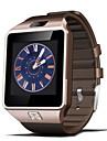 DZ09 - Smarta tillbehör - Smart Watch - Bluetooth 4.0 - Handsfreesamtal/Mediakontroll/Meddelandekontroll/Kamerakontroll - till
