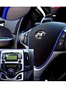 bil klistermärke dekoration gäng klistermärken auto styling inomhus pater kupén exteriör kroppen ändra dekal 6 färger 5m / st