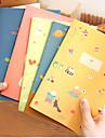 Zakka Cute Cat Bird Notepad veveriță (Random Color)